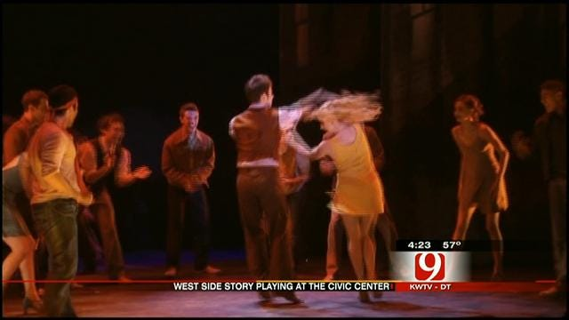 Actor From West Side Story Stops In At The News 9 Studios