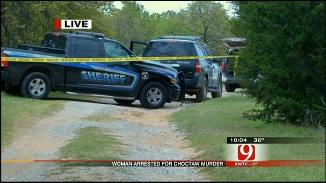 MWC Woman Arrested In Choctaw Man's Shooting Death