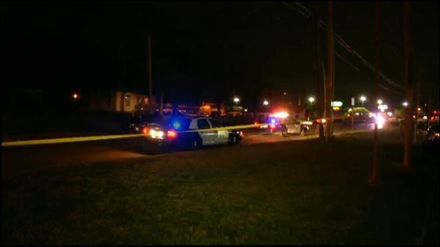 WEB EXTRA: OKC Police On Scene Of Auto-Pedestrian Accident