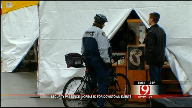 Police Increase Security At Downtown OKC Events