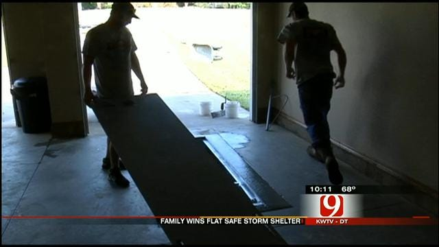Guthrie Family Talks About Winning Flat Safe Shelter From News 9