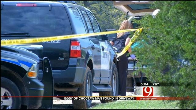 Police Investigate Homicide After Choctaw Man's Body Found