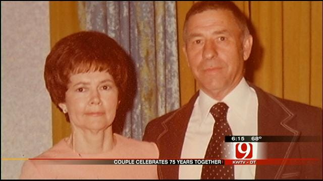 Oklahoma Couple Celebrates 75 Years Of Marriage