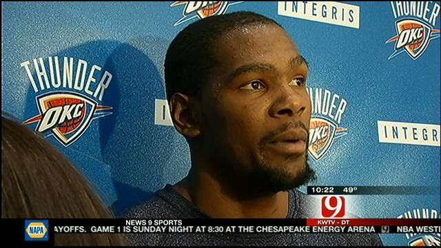 Thunder Ready To Get Championship Run Started