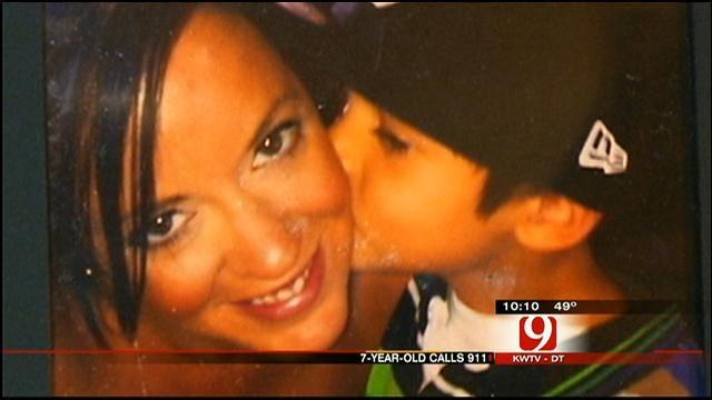 OKC Boy, 7, Dials 911 To Save Mom