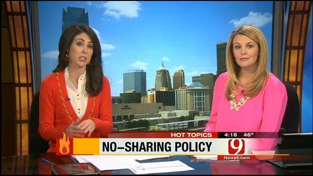 Hot Topics: No-Sharing Policy