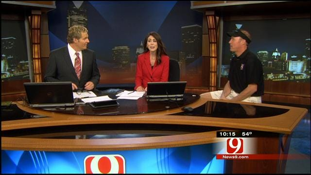 Meteorologist David Payne Talks About Wednesday's Storm Chase