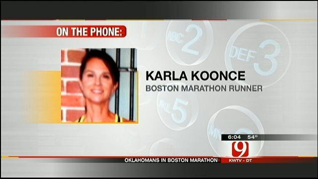 Oklahoma Runner Karla Koonce Talks About Boston Bombings