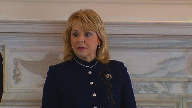 WEB EXTRA: Governor Fallin Speaks About Boston Bombings