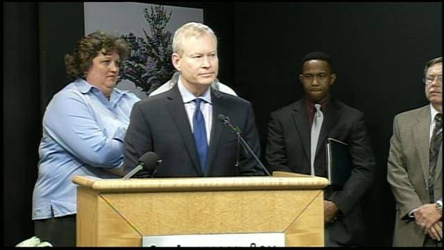 WEB EXTRA: OKC National Memorial & Museum Hosts News Conference Following Boston Blasts
