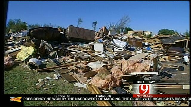 Story Of Survival From Couple Who Narrowly Escaped Woodward Tornado
