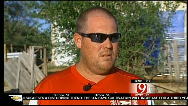 Man Talks About Wild Ride When Woodward Tornado Swept Through