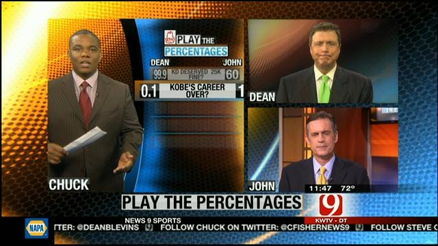 Play The Percentages: April 14