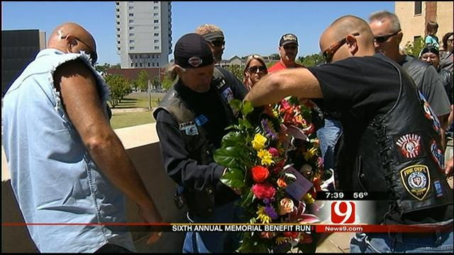 Memorial Ride To Remember OKC Bombing Victims