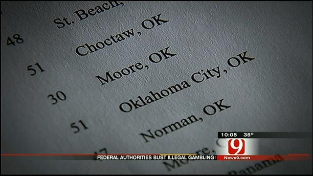 8 Oklahomans Among 34 Others Indicted In Illegal Gambling Operation