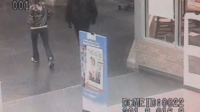Oklahoma County Sheriff's Office Searches For Suspects In Credit Card Theft