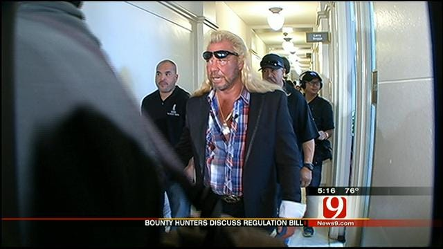 Oklahoma Lawmakers Honor TV's Top Bounty Hunter