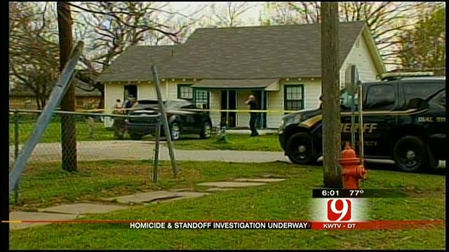 Garvin County Standoff Ends After Homicide Suspect Found Dead