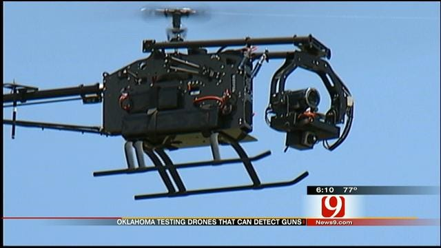 Oklahoma Researchers Test Drones That Can Detect Guns