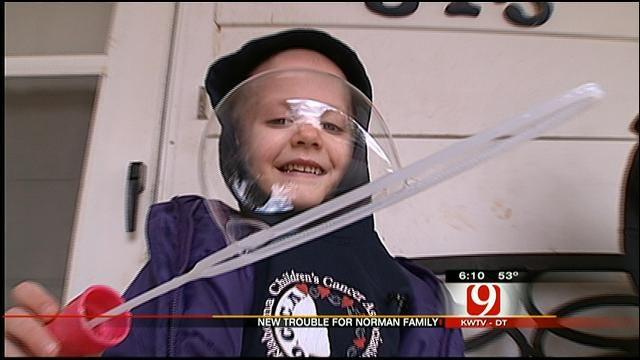 Norman Family Battling Cancer Dealt Another Setback