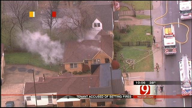 Man Who Set NW OKC Home Ablaze Mentally Ill, Says Wife