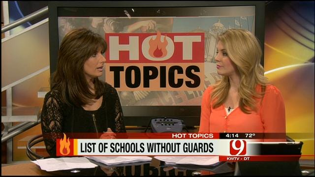 Hot Topics: Newspaper Publishes List Of Schools With Security Guards