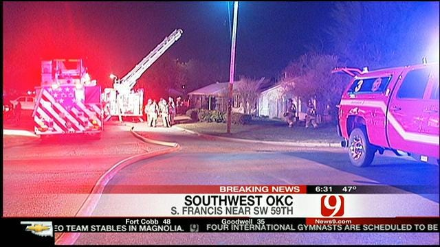 Children Critically Injured In SW OKC House Fire