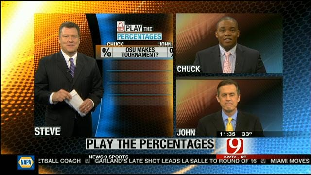 Play The Percentages: March 24