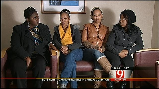 Families Of Teens Injured While 'Car Surfing' Speak Out
