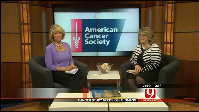 American Cancer Society Seeks Oklahomans For Cancer Research Project