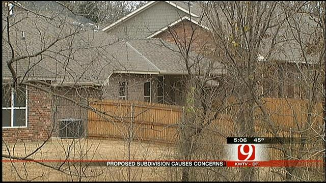 Edmond Homeowners Worry Proposed Subdivision Will Hurt Home Values