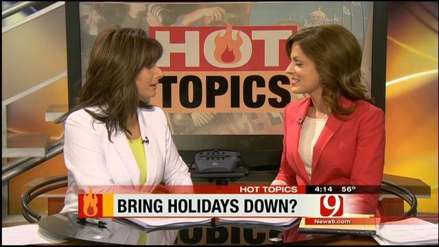 Hot Topics: Bring Holidays Down