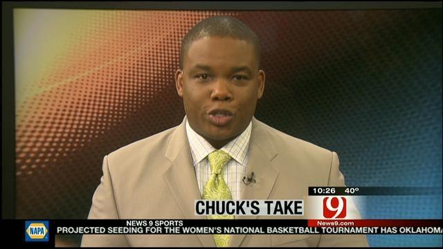 Chuck's Take On Filling Out A Bracket