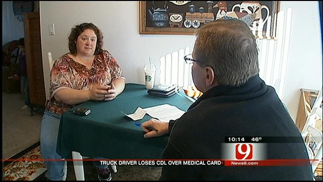OKC Truck Driver Upset After State Took Away Her CDL