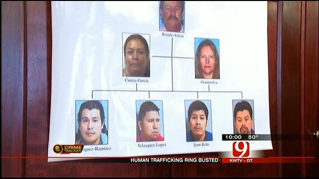 Eight Sentenced In Human Trafficking Ring In OKC, Tulsa