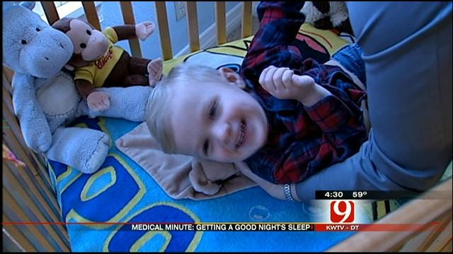 Medical Minute: Getting A Good Night's Sleep