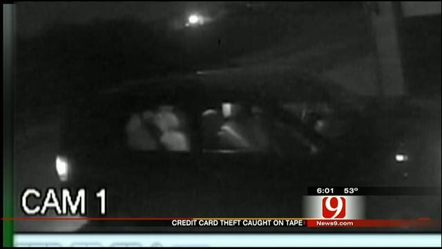 OKC Man Hopes Surveillance Video Will Help Police Catch Thieves