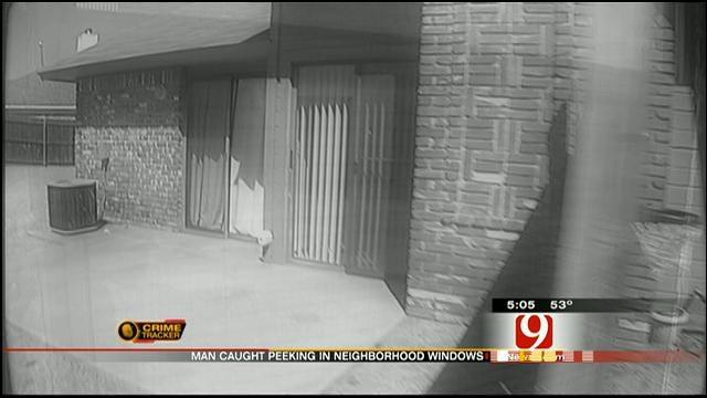 Man Accused Of Being 'Peeping Tom' At NW OKC Neighborhood