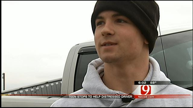 Hero Kingfisher Sophomore Pulls Driver Out Of Wrecked SUV