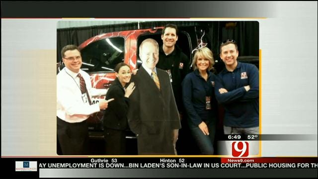 Road Trip Oklahoma: News 9 This Morning Team Heads To The Auto Show