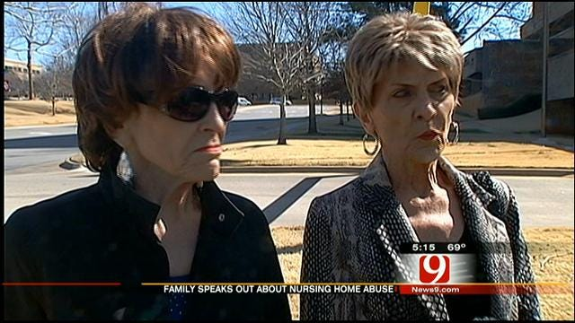 Family In OKC Nursing Home Abuse Case Speaks Out