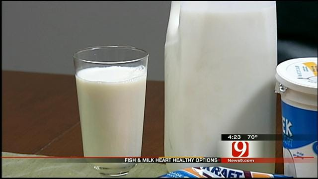 Medical Minute: Fish And Milk Are Heart Healthy Options