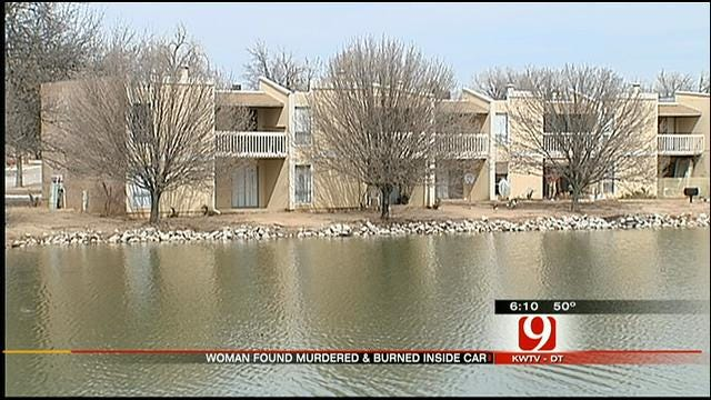 Residents At NW OKC Apartment Talk About Body Found In Burning Car