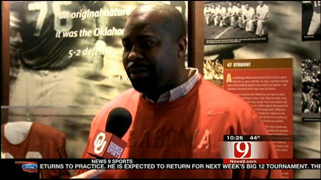 New Sooner Assistant Coach Happy To Be At OU