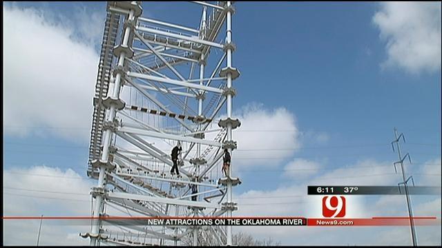 Sandridge Sky Trail Set To Open On Oklahoma River