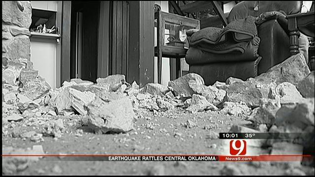 Earthquakes Rattle OKC Metro, Cause Some Damage