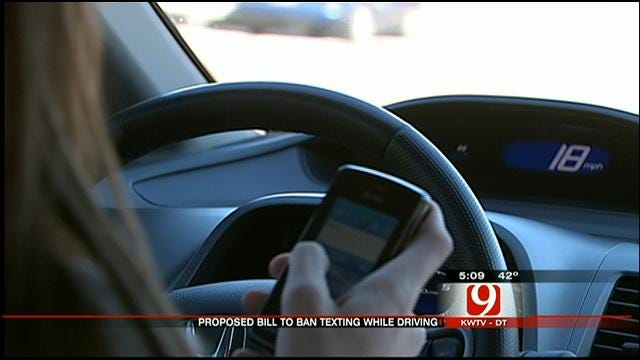 Supporters Of Texting While Driving Ban Rally At OK Capitol