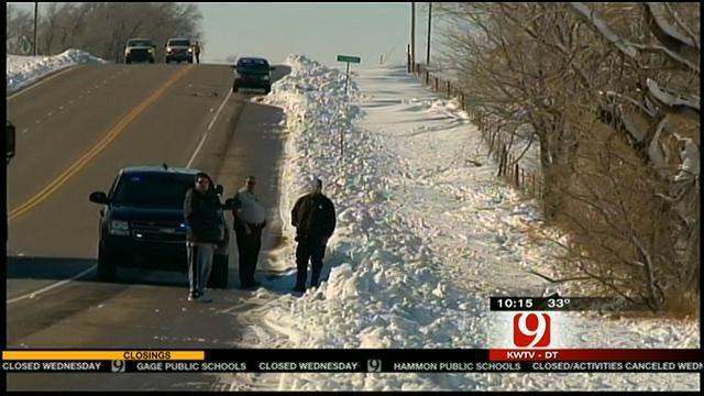 Meteorologist David Payne Updates On Woodward Snow