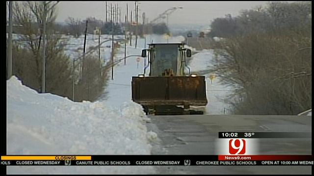 Woodward Residents Still Digging Out From Significant Winter Storm