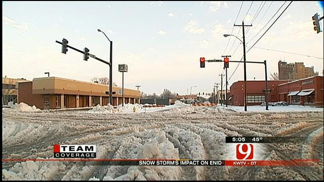 Storm Knocks Out Power to Thousands In Enid